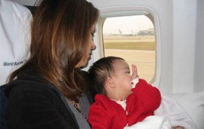 Partir avec bébé en vacances