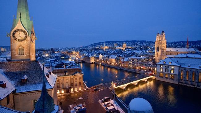 Suisse: Escapade à Zurich