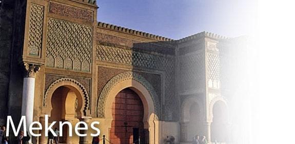 Découvrir Meknes